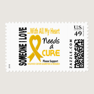 Childhood Cancer Needs A Cure 3 Postage