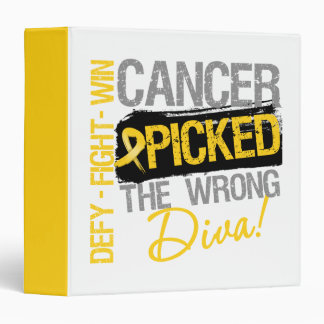 Childhood Cancer Picked The Wrong Diva Binder