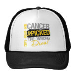 Childhood Cancer Picked The Wrong Diva Mesh Hats
