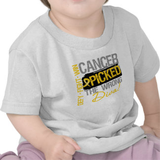 Childhood Cancer Picked The Wrong Diva Tees
