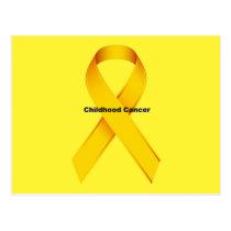 Childhood Cancer Postcard