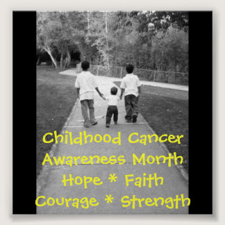 Childhood Cancer.. Poster