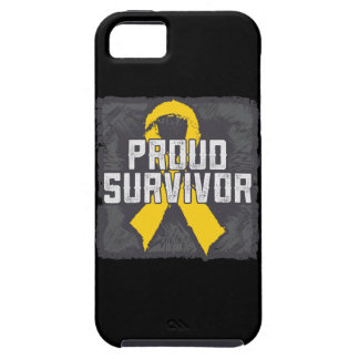 Childhood Cancer Proud Survivor iPhone 5 Cover