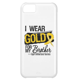 Childhood Cancer Ribbon For My Brother iPhone 5C Covers