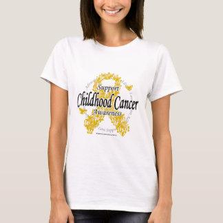 Childhood Cancer Ribbon of Butterflies T-Shirt