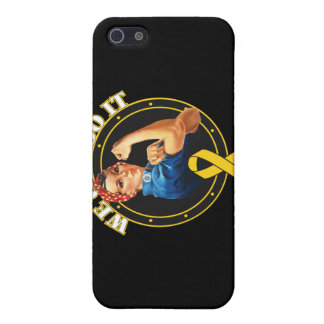 Childhood Cancer - Rosie The Riveter - We Can Do I Cases For iPhone 5