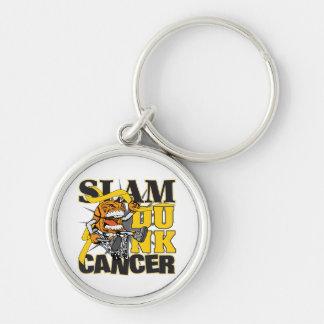 Childhood Cancer - Slam Dunk Cancer Keychains