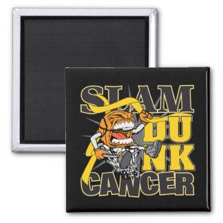 Childhood Cancer - Slam Dunk Cancer Magnets