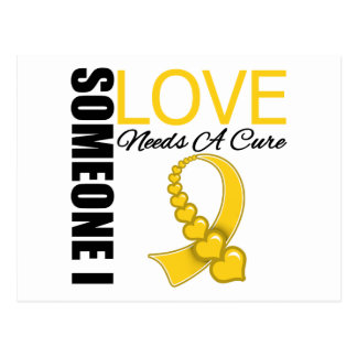 Childhood Cancer Someone I Love Needs A Cure Post Card