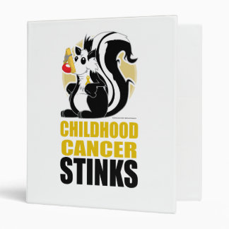 Childhood Cancer Stinks Binder