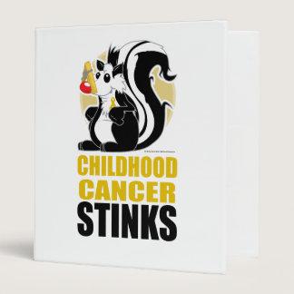 Childhood Cancer Stinks Binder