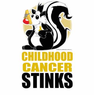 Childhood Cancer Stinks Cutout