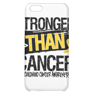 Childhood Cancer - Stronger Than Cancer iPhone 5C Covers