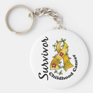 Childhood Cancer Survivor 15 Key Chains