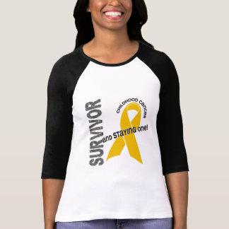 CHILDHOOD CANCER Survivor 1 T-Shirt