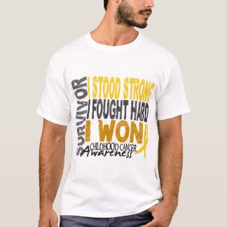 Childhood Cancer Survivor 4 T-Shirt