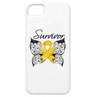 Childhood Cancer Survivor Butterfly iPhone 5 Covers