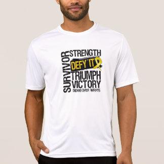 Childhood Cancer Survivor Defy It Tshirt