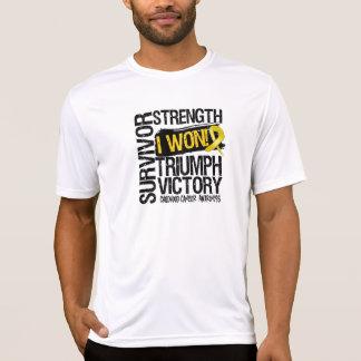 Childhood Cancer Survivor I Won T-shirts