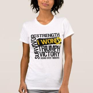 Childhood Cancer Survivor I Won T Shirt