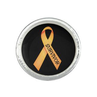 Childhood Cancer Survivor Ring