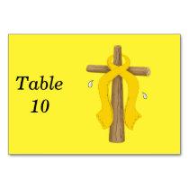 Childhood Cancer Table Number