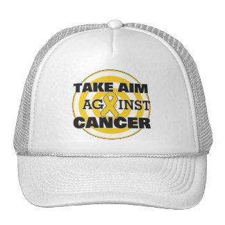 Childhood Cancer Take Aim Against Cancer Trucker Hat