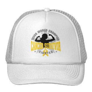 Childhood Cancer Tough Survivor Trucker Hat