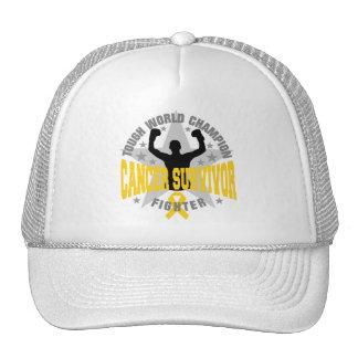 Childhood Cancer Tough World Champion Survivor Trucker Hat