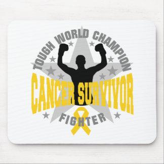 Childhood Cancer Tough World Champion Survivor Mouse Pad