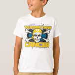 Childhood Cancer Tougher Than Cancer Skull T-Shirt