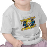 Childhood Cancer Tougher Than Cancer Skull Tees