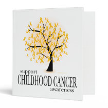 Childhood Cancer Tree Binder