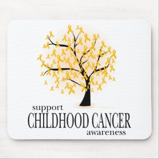 Childhood Cancer Tree Mouse Pad