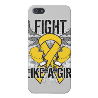 Childhood Cancer Ultra Fight Like A Girl Cases For iPhone 5
