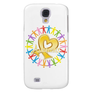 Childhood Cancer Unite in Awareness Samsung Galaxy S4 Cover