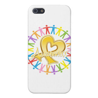 Childhood Cancer Unite in Awareness iPhone 5 Cases