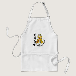 Childhood Cancer Warrior 15 Adult Apron