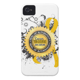 Childhood Cancer Warrior 23 iPhone 4 Cases