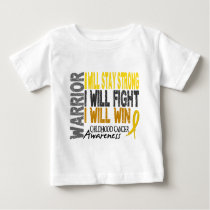 Childhood Cancer Warrior Baby T-Shirt