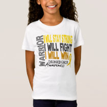 Childhood Cancer Warrior T-Shirt