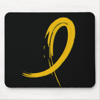 Childhood Cancer's Gold Ribbon A4 Mouse Pad