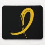 Childhood Cancer's Gold Ribbon A4 Mousepads