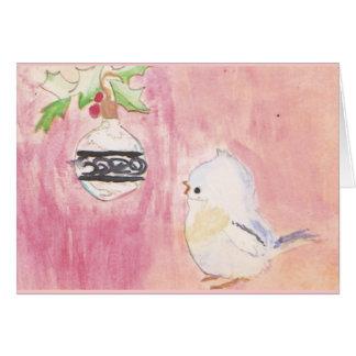 Childhood Christmas (blank) Card
