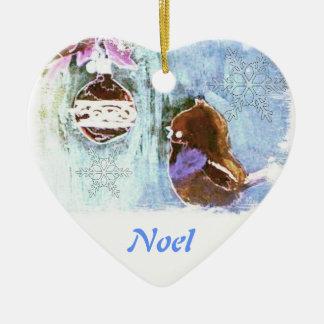 Childhood Christmas Fantasy (pastel) Ornament