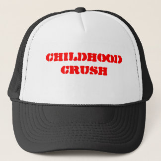 childhood crush - Customized Trucker Hat