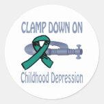 Childhood Depression Sticker