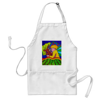 Childhood Dreams by Piliero Adult Apron