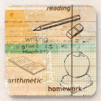 Childhood Education Montage Coaster