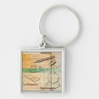 Childhood Education Montage Keychain